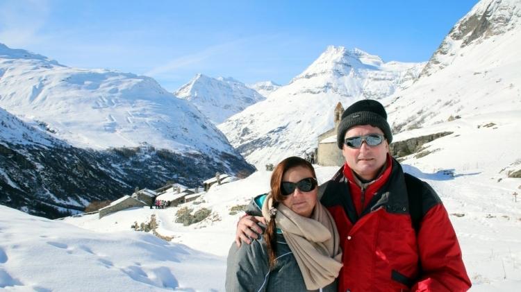 Bonneval sur Arc : selfie à l'Ecot