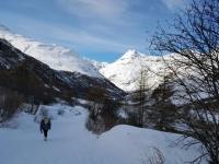 Bonneval sur Arc : balade en direction de l'Ecot
