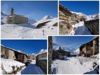 Bonneval sur Arc : le hameau de l'Ecot