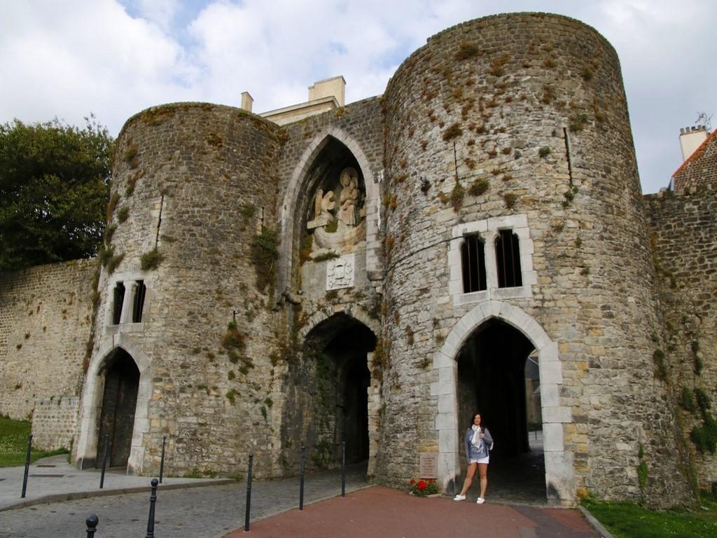 Boulogne sur Mer : Une des 4 portes de la ville fortifiée