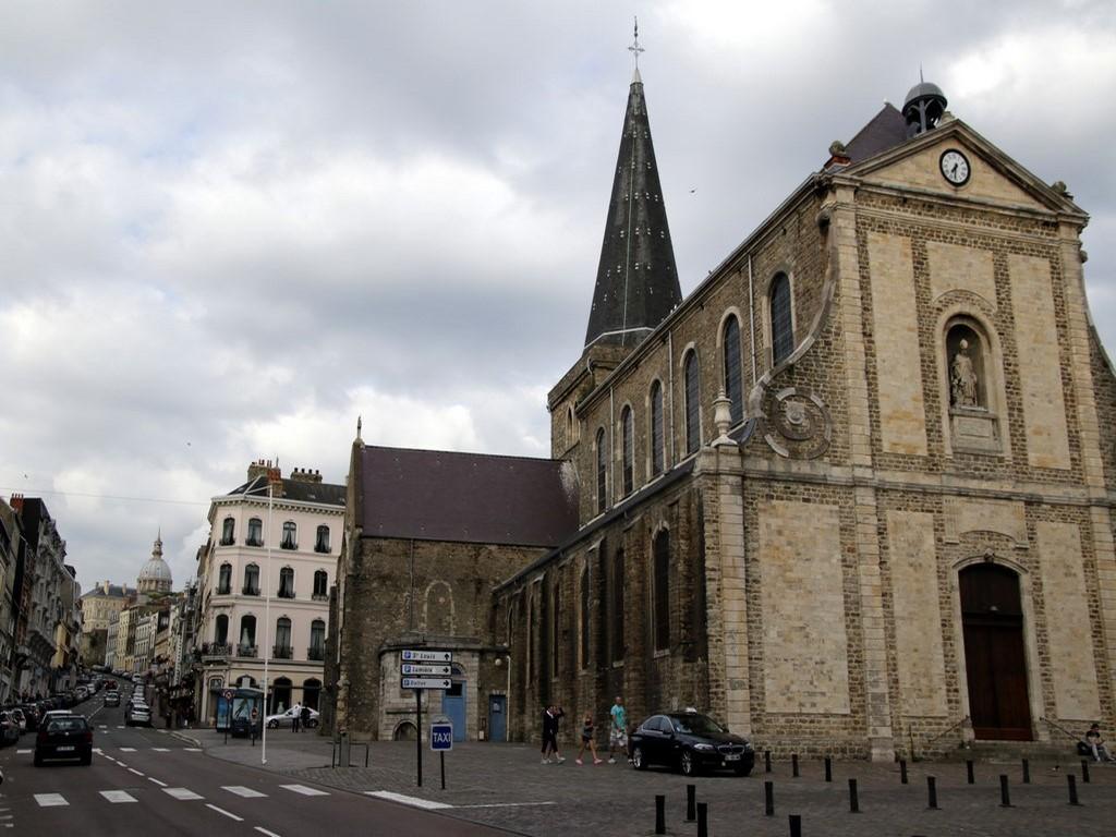 Boulogne sur Mer : église Saint Nicolas