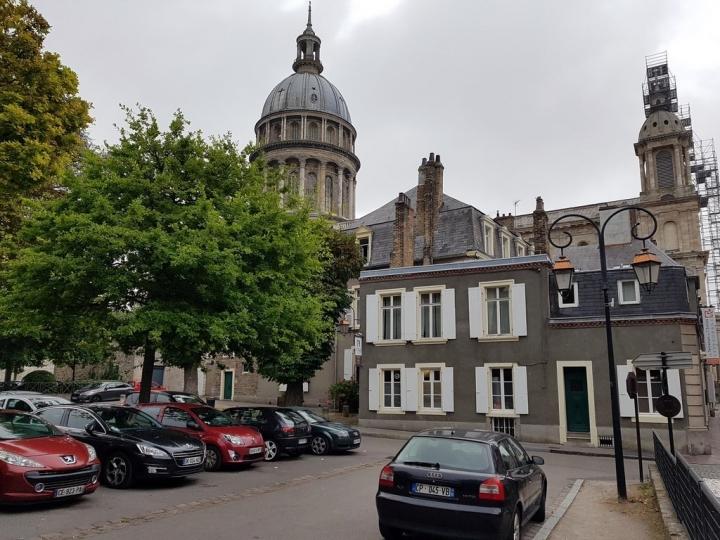 Boulogne sur Mer : l'Enclos de l'Evêché