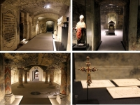 Boulogne sur Mer : la crypte de la basilique