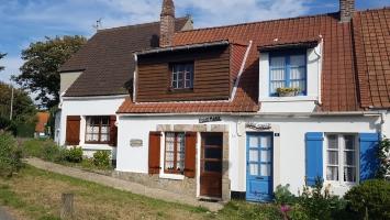 Grand Site des 2 Caps : ancienne maison de pêcheur à Wissant