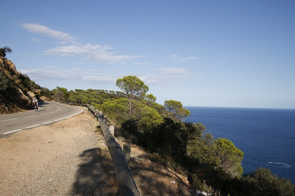 Estartit Costa Brava : route de corniche