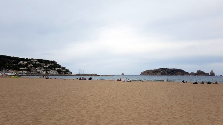 Estartit Costa Brava : Plage Estartit et îles Medes