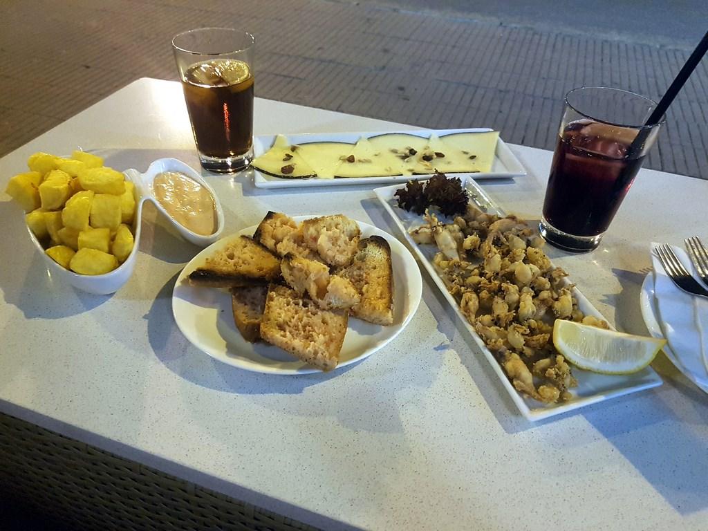 Estartit Costa Brava : tapas