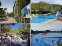 Estartit Costa Brava : Camping Castell Montgri