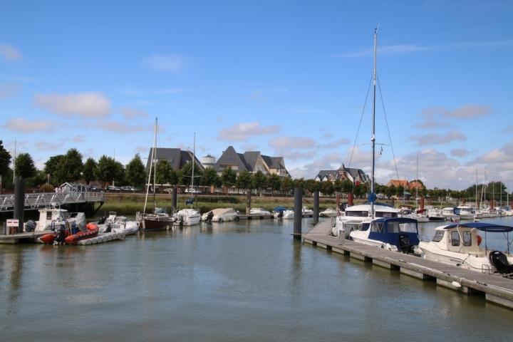 Découvrir la Baie de Somme : port de plaisance Le Crotoy