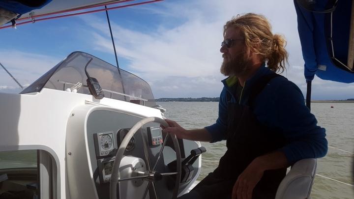 Découvrir la Baie de Somme : Emmanuel Dubert le skipper