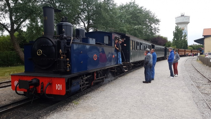 Découvrir la Baie de Somme : Le Train de la Baie de Somme à Le Crotoy