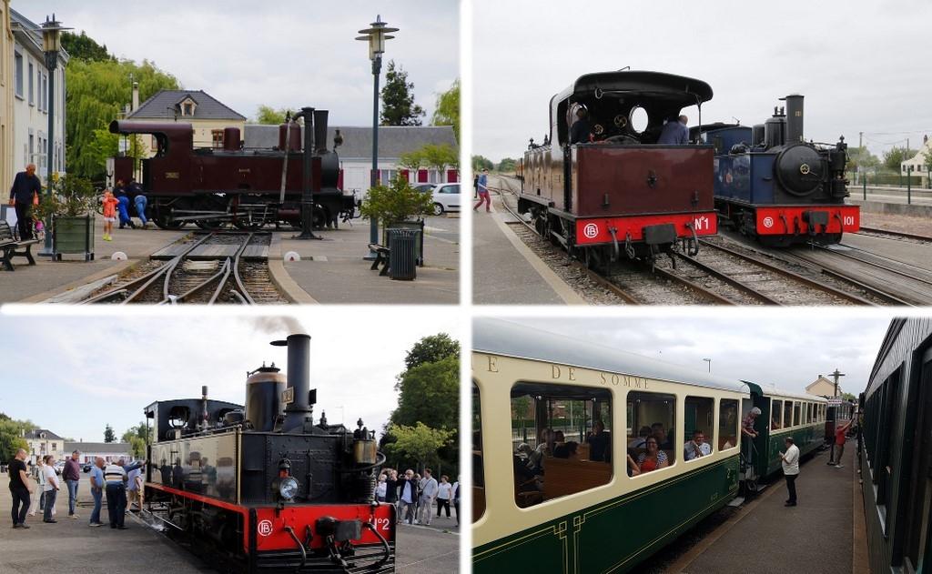 Découvrir la Baie de Somme : retournement de locomotive à Noyelles-sur-Mer