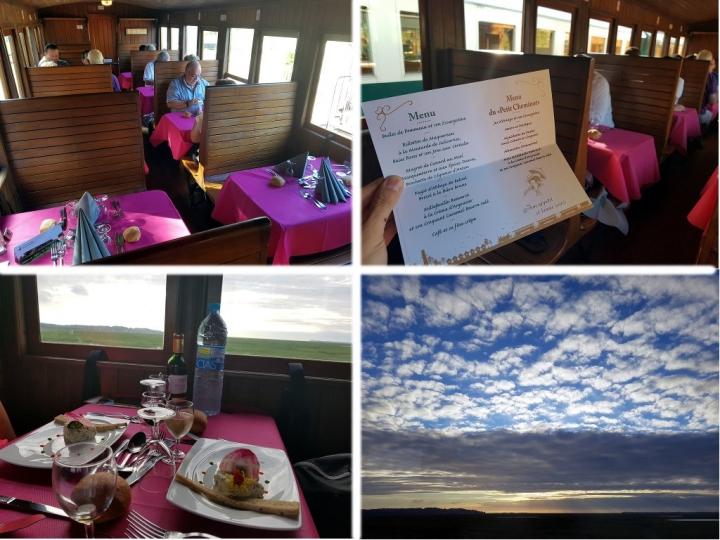 Découvrir la Baie de Somme : dîner à bord du train de la Baie de Somme