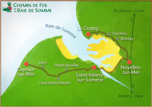 Découvrir la Baie de Somme : le parcours du train de la Baie de Somme