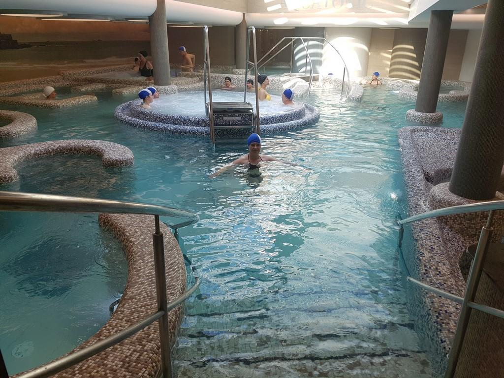 Grand Hôtel des Thermes : le parcours Aquatonic