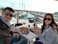 OUI.sncf : Déjeuner en terrasse à Mandelieu