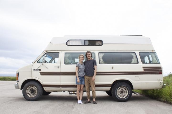 Roadtrip au Canada : Pierre et Camille