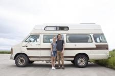 Van Life au Canada : Pierre et Camille