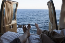 Roadtrip au Canada : Reveil au bord de la mer