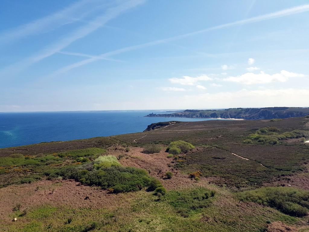 Pays de Fréhel : Vue du phare du Cap Fréhel