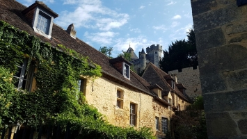 Le Périgord noir : Château de Montfort