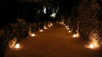 Le Périgord noir : Marqueyssac aux chandelles
