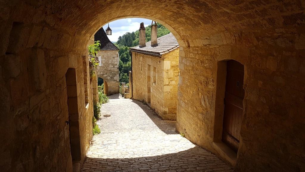 Le Périgord noir : Castelnaud la Chapelle