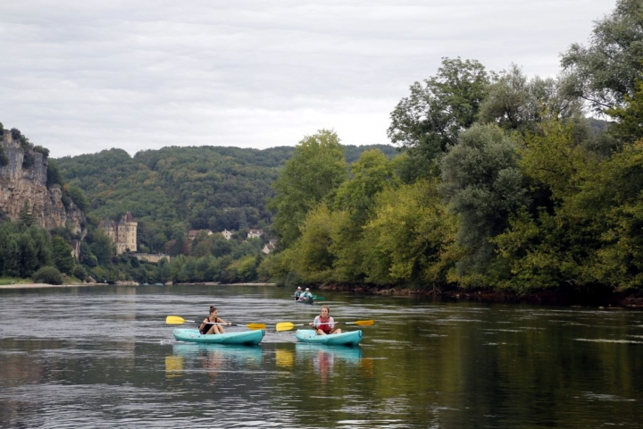 Le Périgord noir : faire du kayak