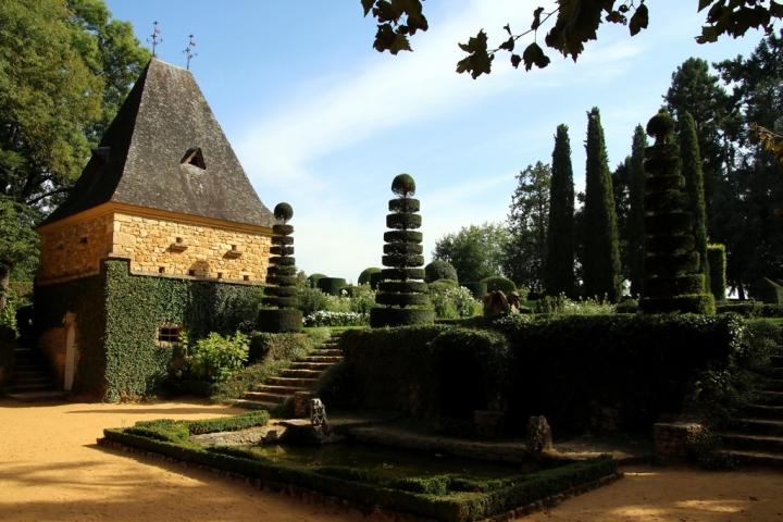Le Périgord noir : Jardin du Manoir d'Eyrignac