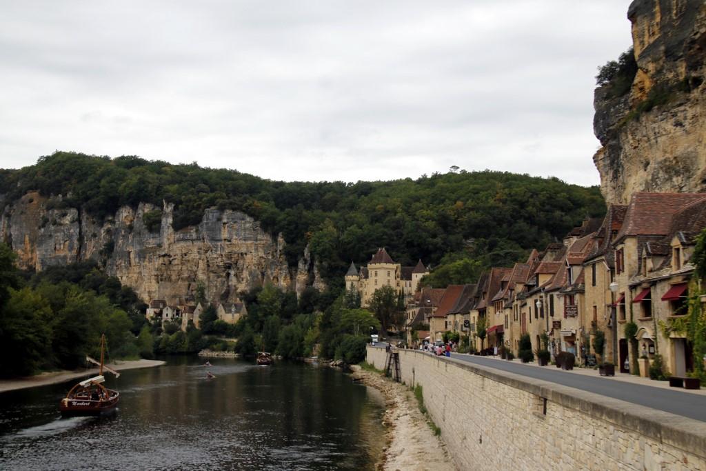 Le Périgord noir : La Roque Gageac