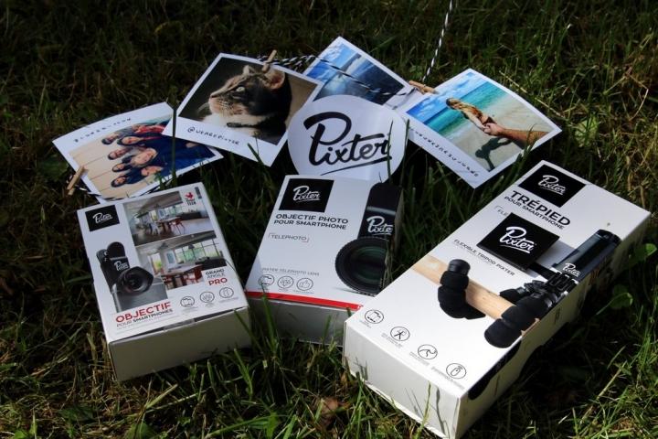 Gamme de produits Pixter