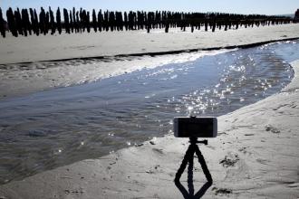 Filmer avec le trépied Pixter pour smartphone