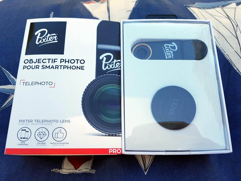 Objectif téléphoto Pixter
