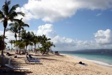 La République Dominicaine : jolie plage