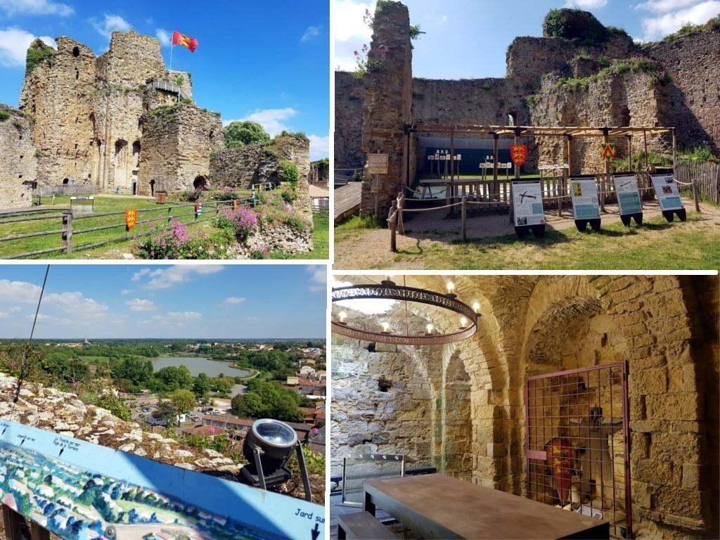 Que faire en Vendée : le château de Talmont
