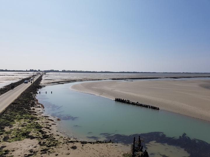 Que faire en Vendée : le passage du gois
