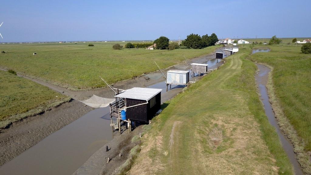 La Vendée : des pêcheries à Bouin