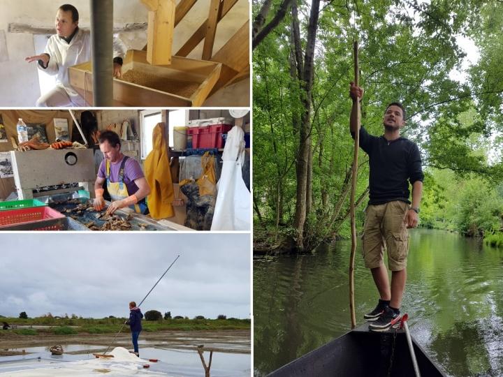 La Vendée : des hommes travaillant avec la nature