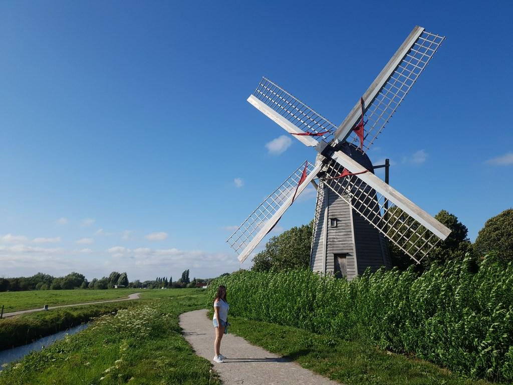 Audomarois : le Moulin de l\'Aile