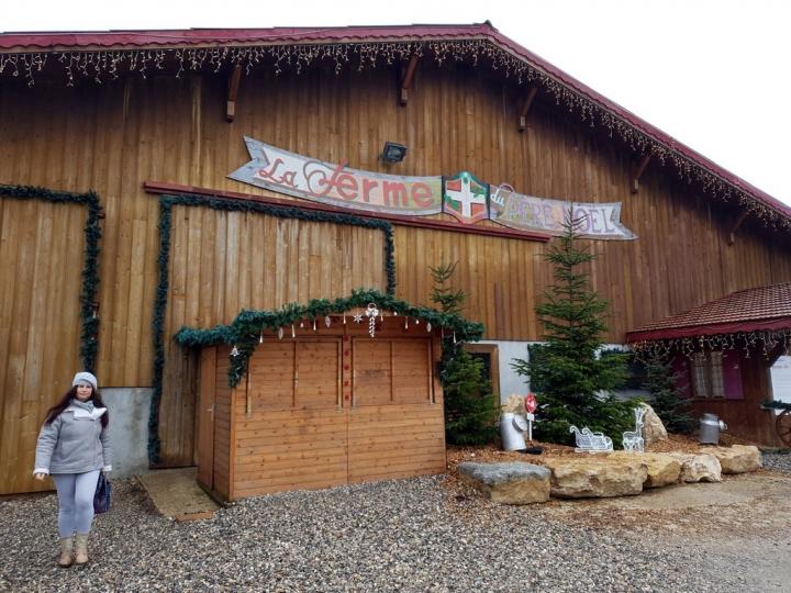 Hameau du Père Noël : la Ferme de Noël
