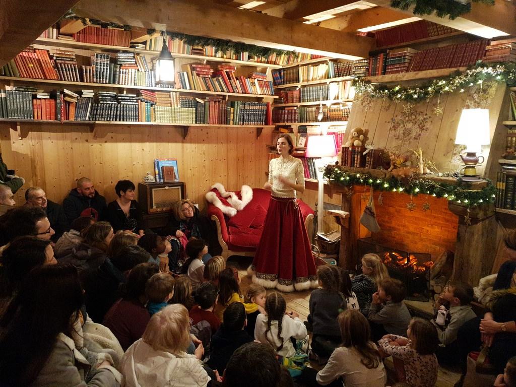 Hameau du Père Noël : la maison de la Mère Noël