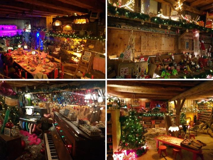 Hameau du Père Noël : la maison du Père Noël
