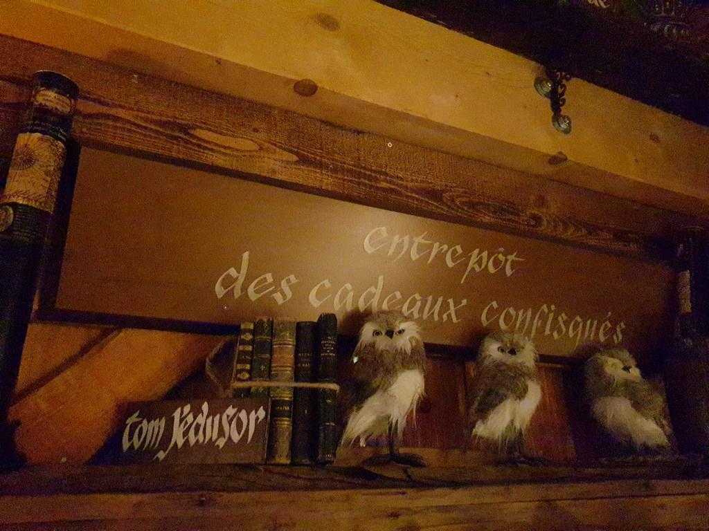 Hameau du Père Noël : la maison du Père Fouettard
