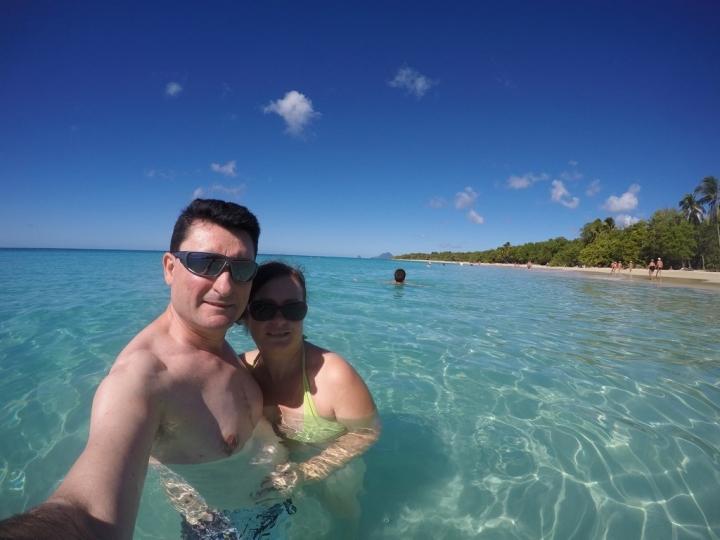 Hiver à la Martinique : Pani pwoblem, se baigner ...
