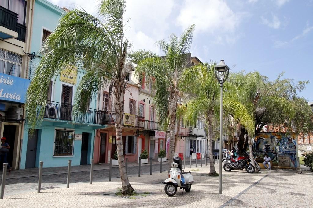 Hiver à la Martinique : Pani pwoblem, vieux quartier Fort-de-France