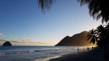 Hiver à la Martinique : Pani pwoblem, les couchers de soleil