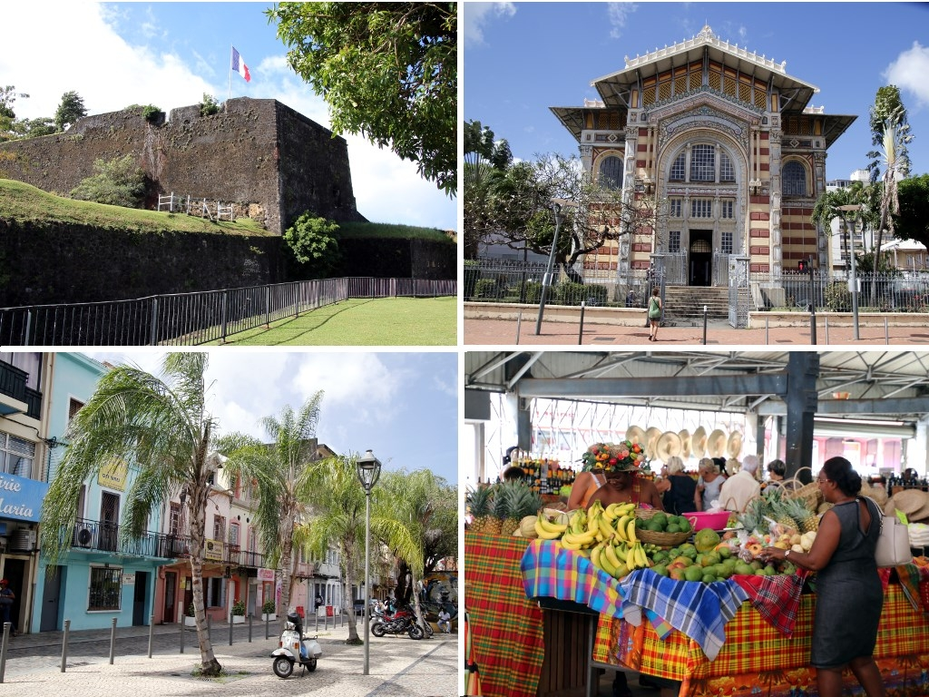 Que faire en Martinique : Fort-de-France