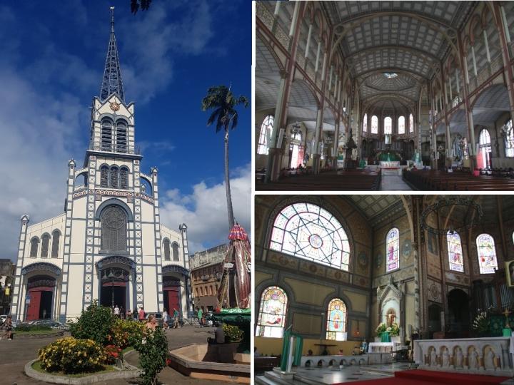 Que faire en Martinique : Cathédrale Saint-Louis