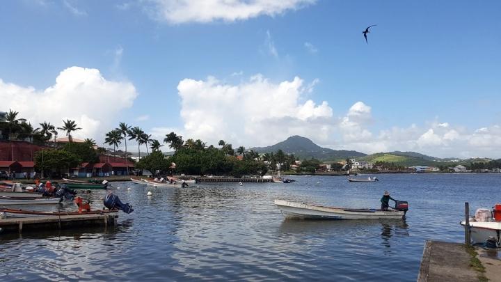 Que faire en Martinique : Village de pêcheurs Le Vauclin