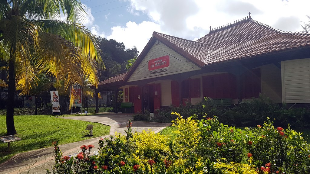 Que faire en Martinique : La distillerie La Mauny